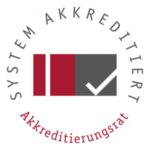 Stiftung Akkreditierungsrat - Accredited study programs at the FAU. Please click on the logo for more information.
