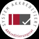 Stiftung Akkreditierungsrat - Akkreditierte Studiengänge an der FAU. Bitte klicken Sie auf das Logo, um weitere Informationen zu erhalten.
