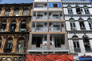 Yangon alt-neu Downtown (Foto: F. Kraas)